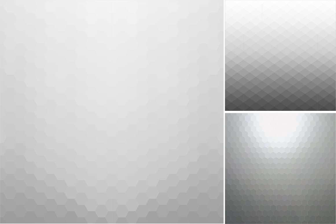 Gray abstract vector backgrounds. example image 5