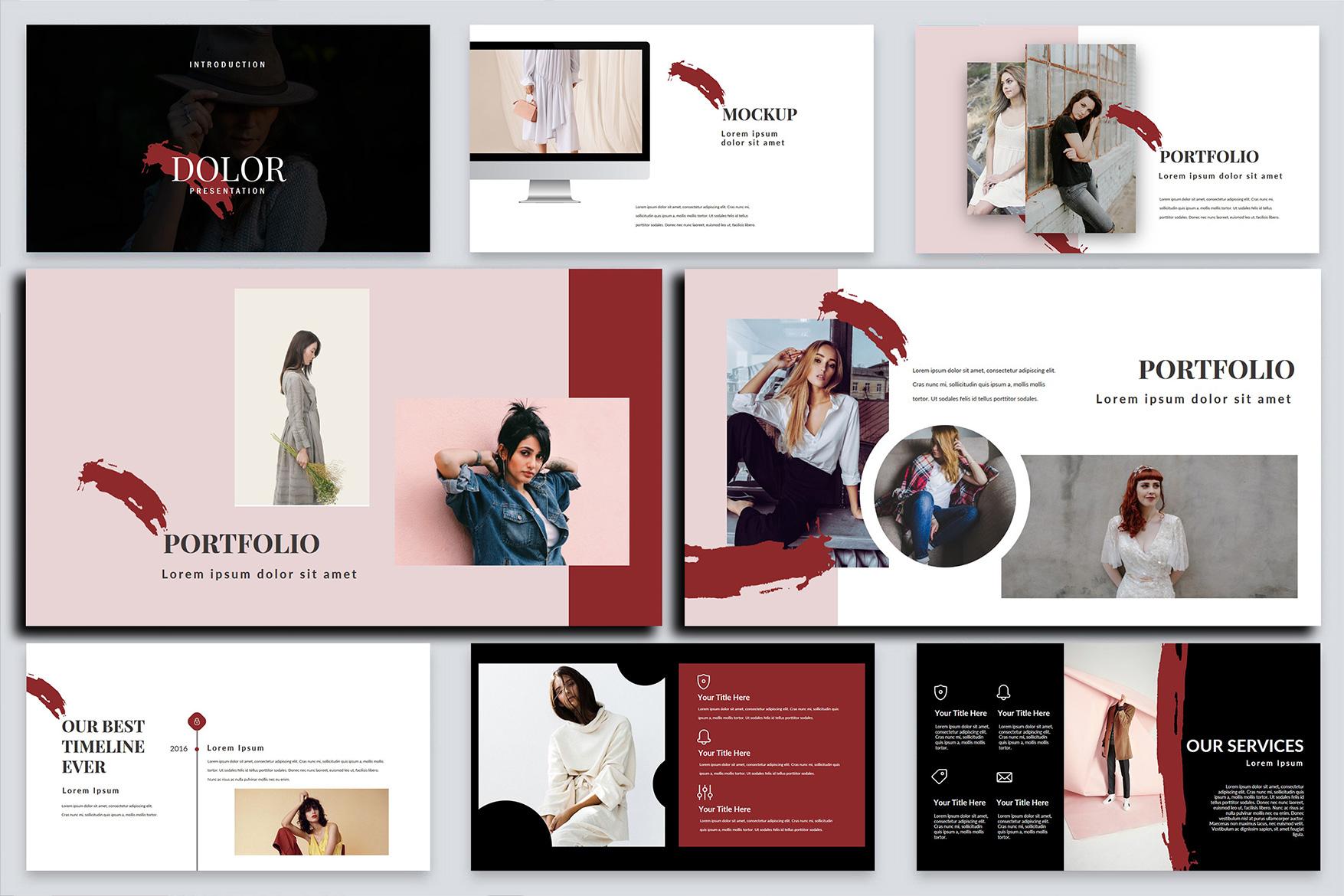 Dolor Stylish PowerPoint example image 6