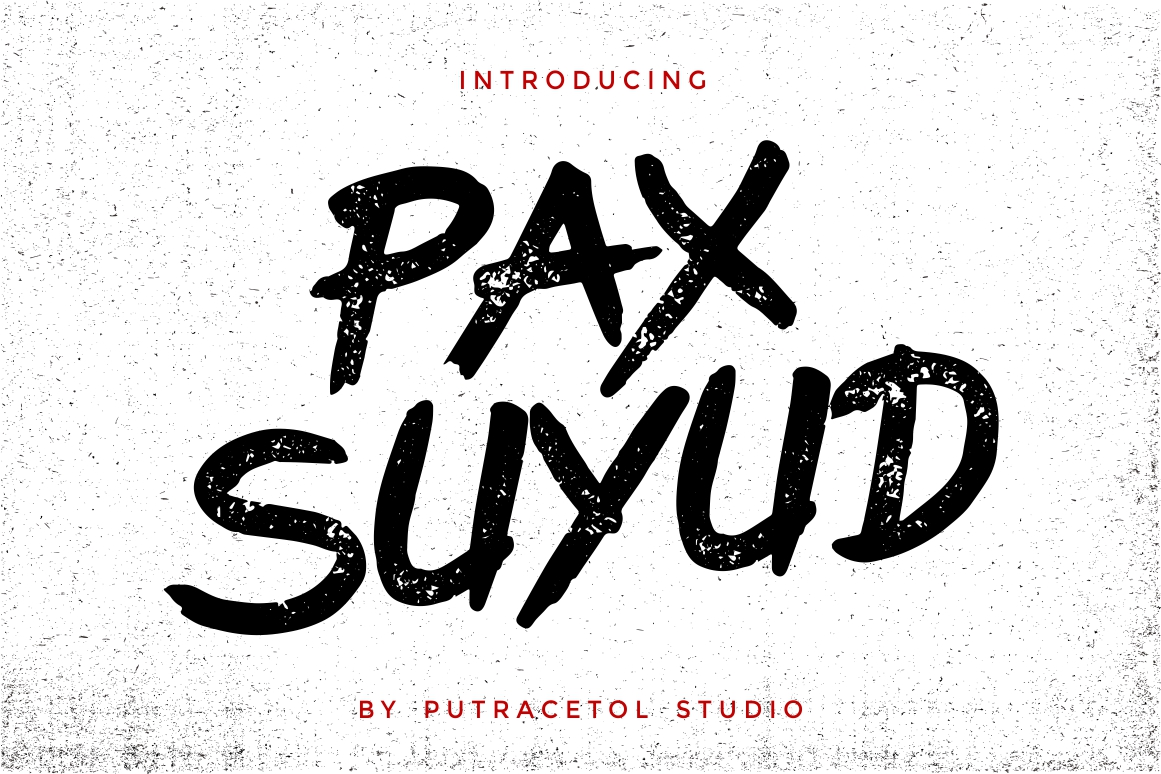 Suyud - Brush Font example image 1