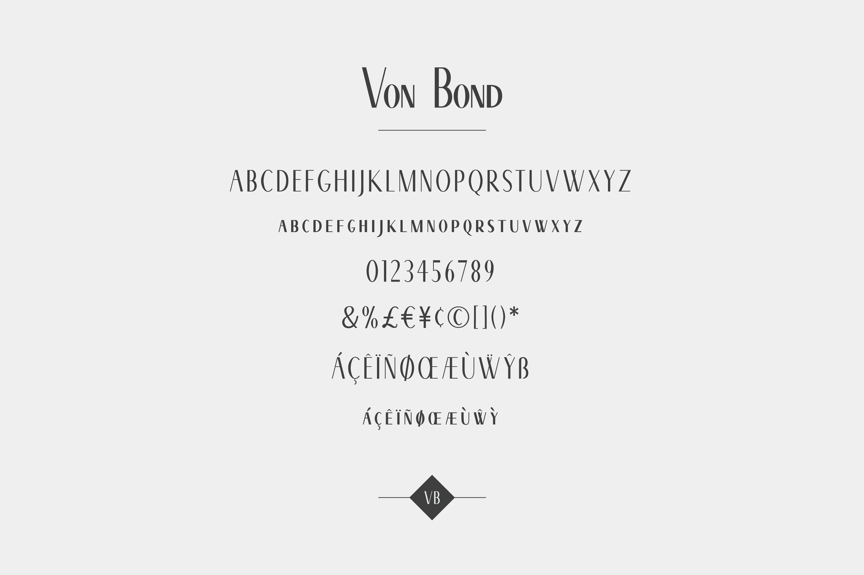 Von Bond - A Classy Sans Serif example image 7