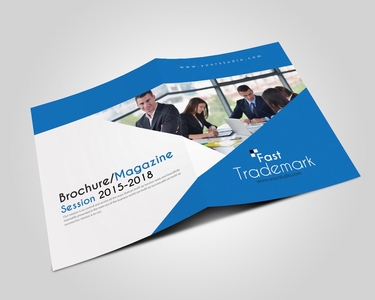 Business Dealing Bifold Brochure example image 3