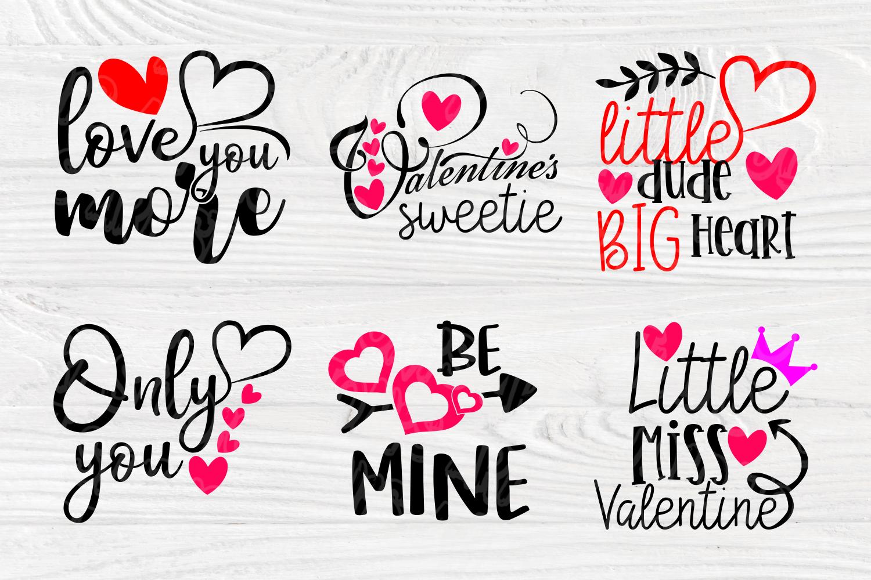 Valentines SVG Bundle | Valentines Signs | SVG Cut Files example image 5