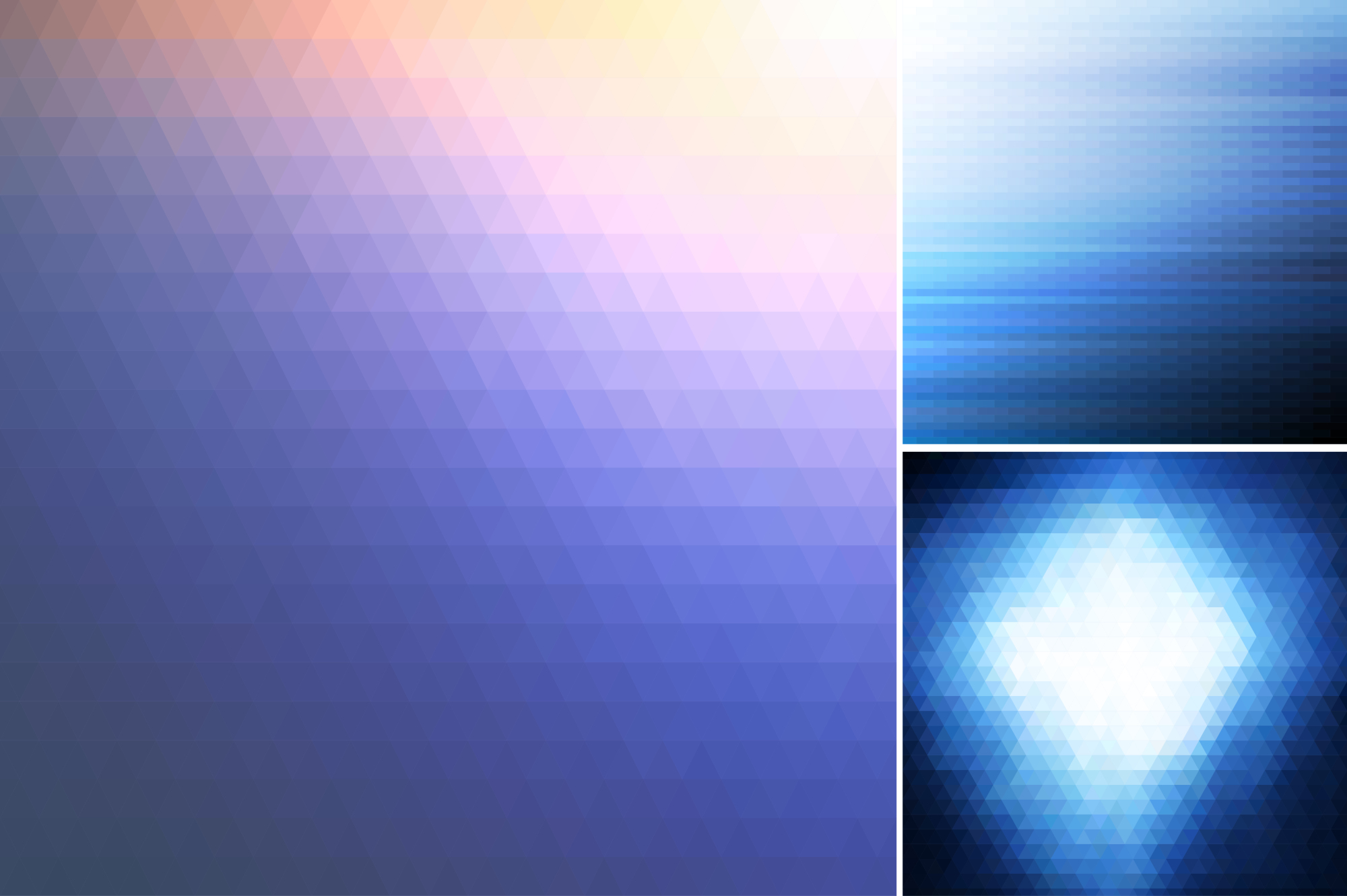 Blue abstract backgrounds. example image 4