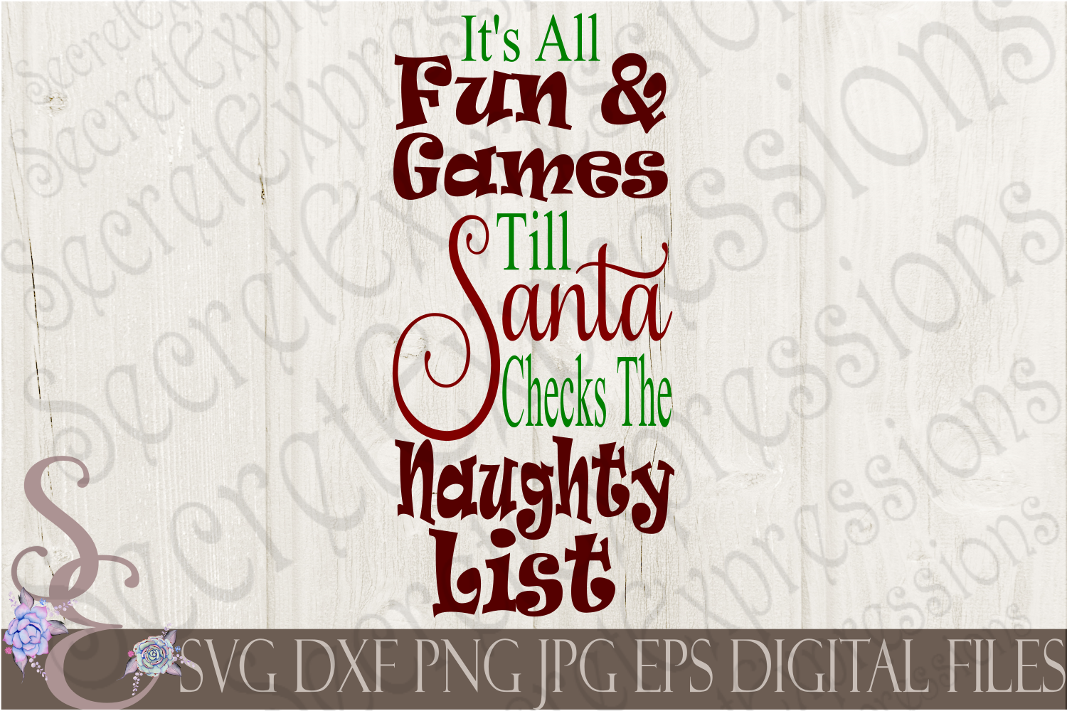 Kid Christmas SVG Bundle 9 Designs example image 5
