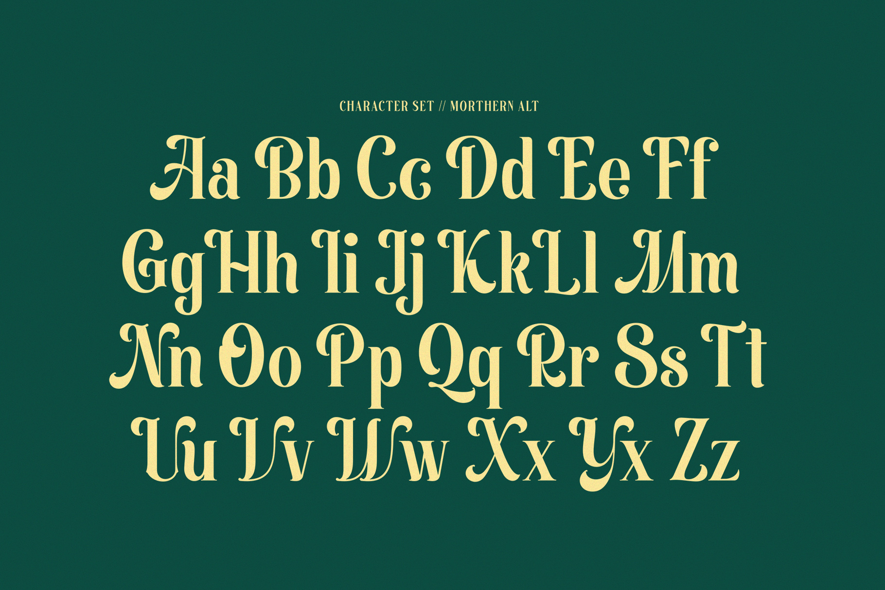 Morthern Font example image 13