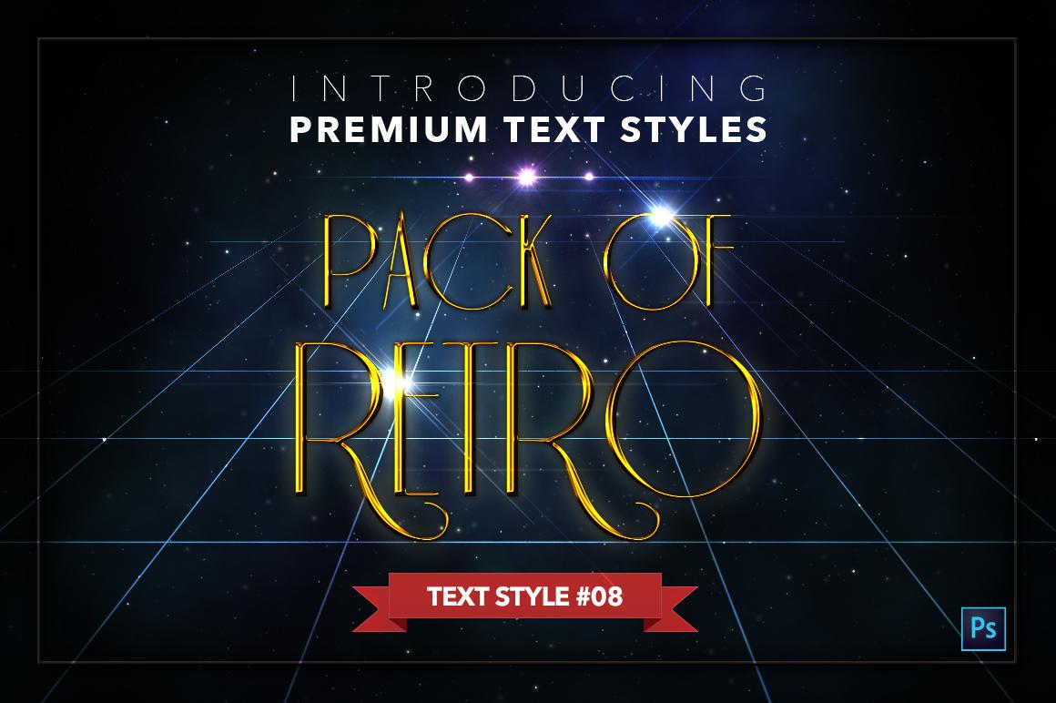 Retro #1 - 20 Text Styles example image 9