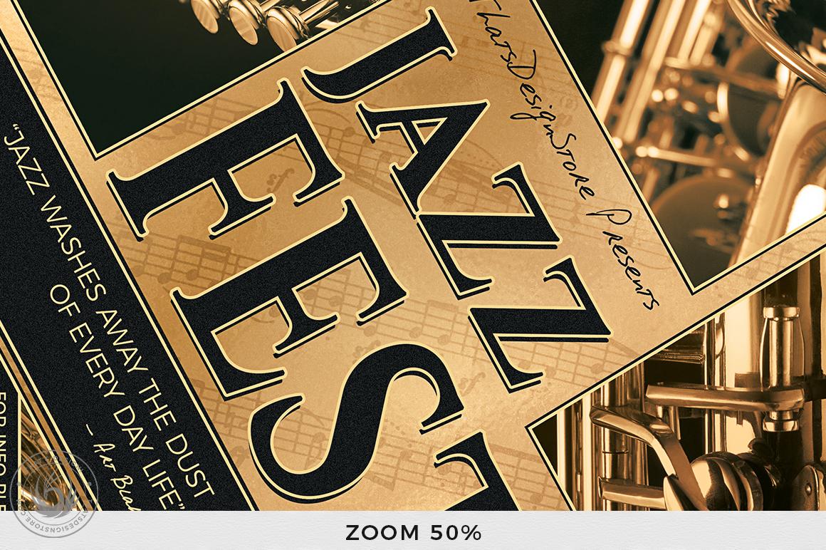 Jazz Festival Flyer Template V1 example image 7
