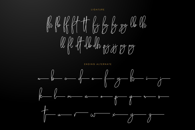 Daisuke - Signature Font example image 7