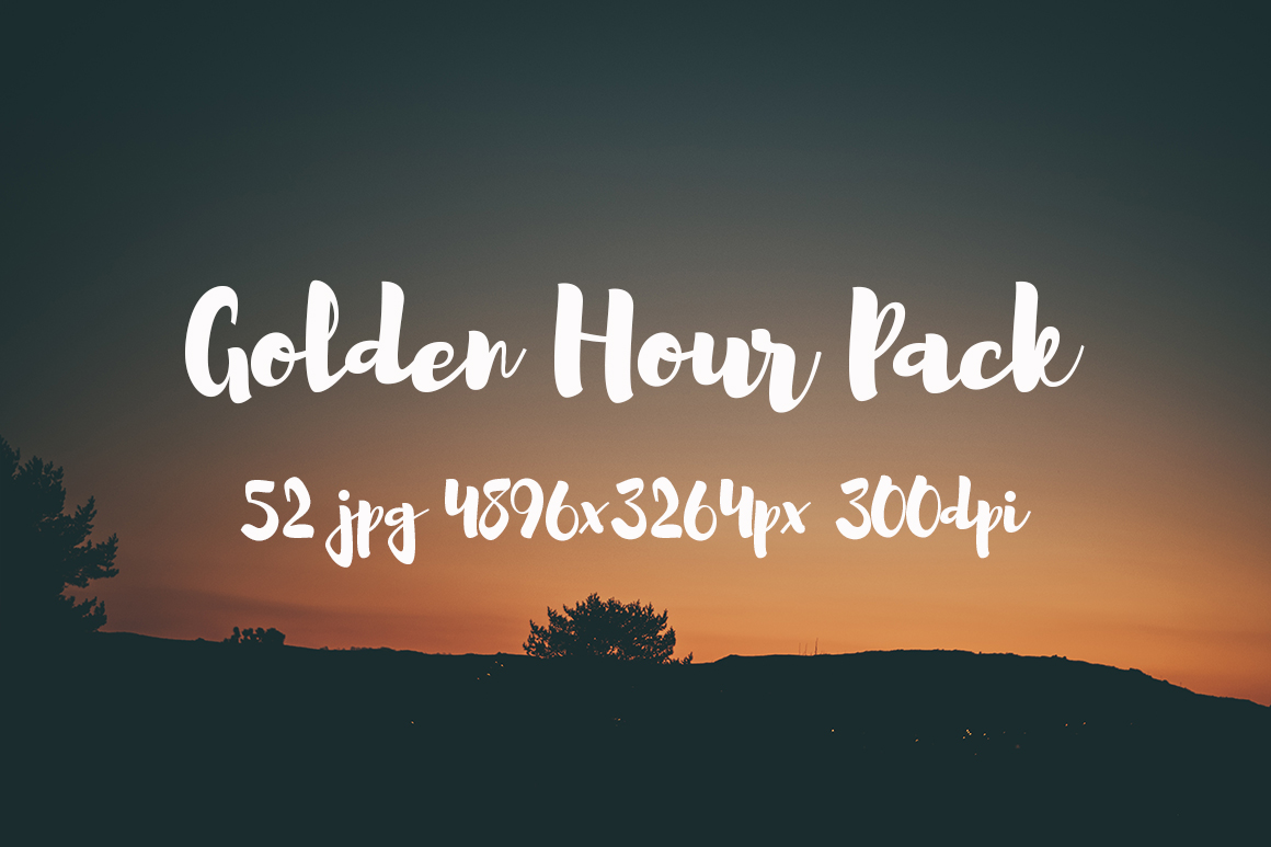 Golden hour Pack example image 13