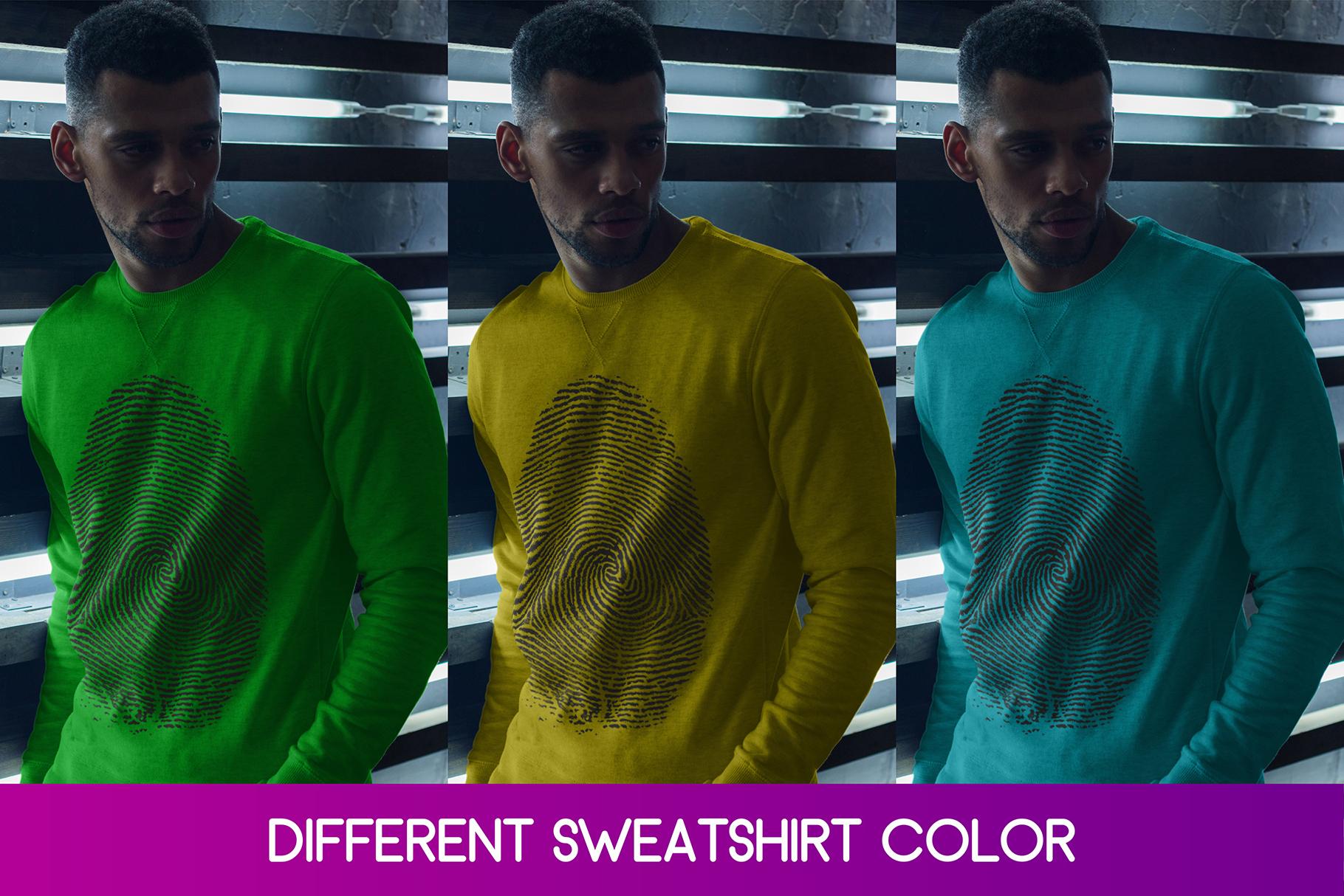 Sweatshirt Mock-Up 2018 #33 example image 3