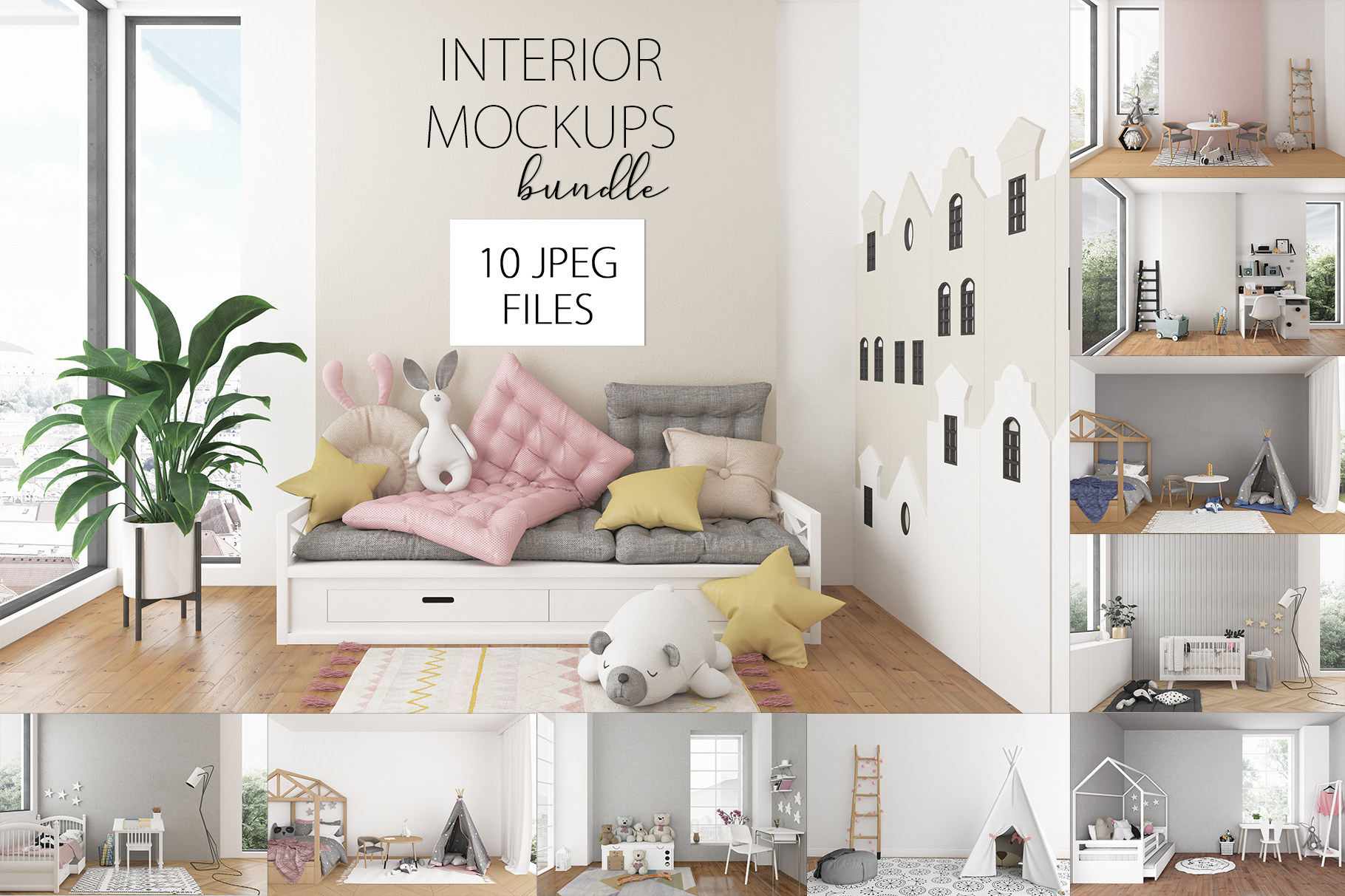 Nursery interior bundle - 10 images 60 off example image 1