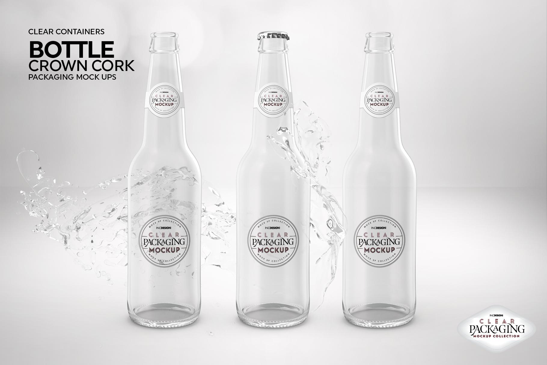 Crown Cork Bottle Mock Up example image 8