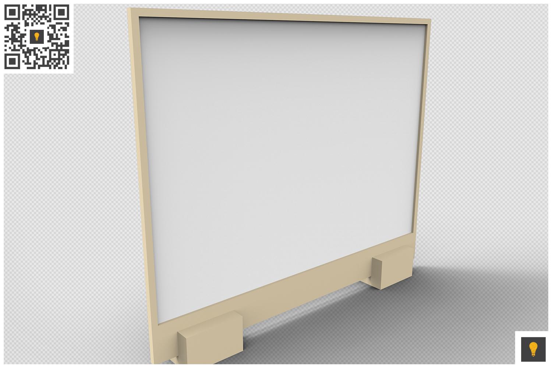 Flyer Display 3D Render example image 17