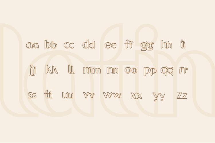 bevog font example image 2