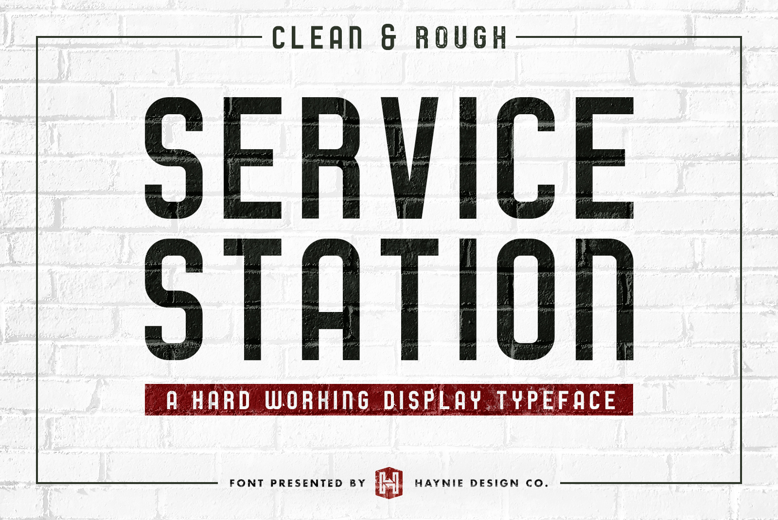 Service Station | Vintage Farmers Market Font example image 2