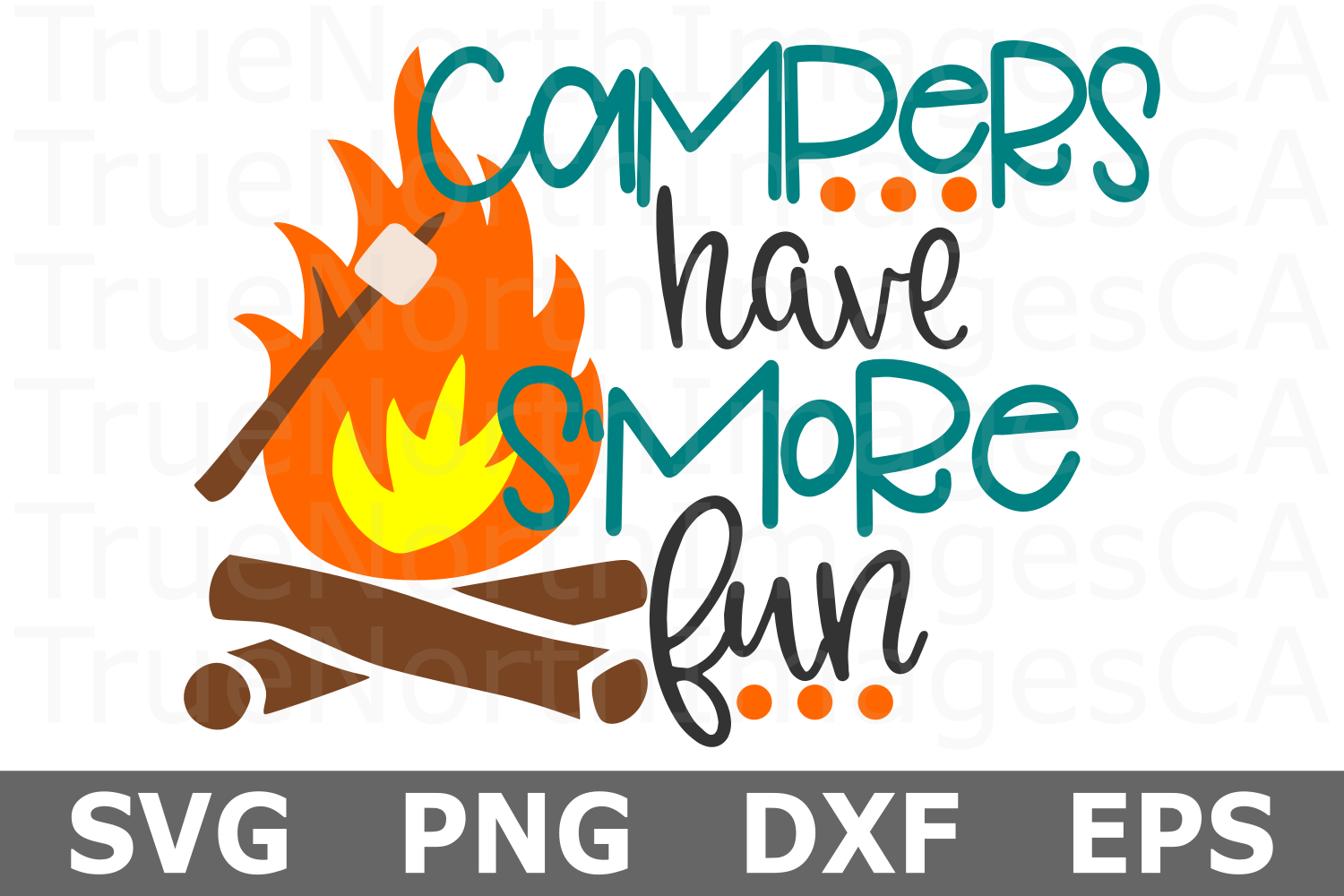 Camp Squad - A Camping SVG File example image 1