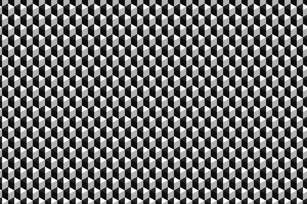Geometric seamless modern patterns. example image 15
