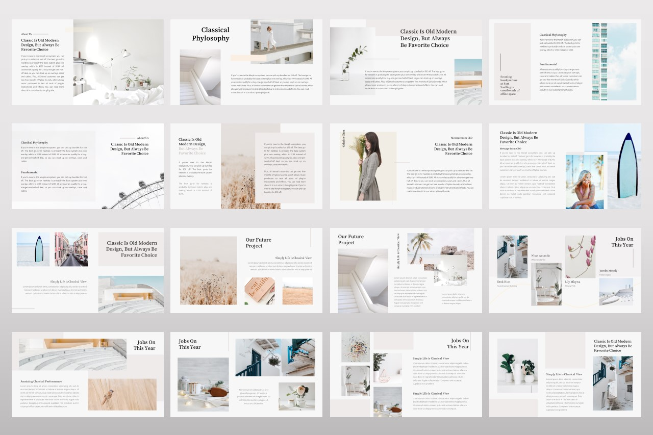 Classical - Creative Business Power Point Template example image 2