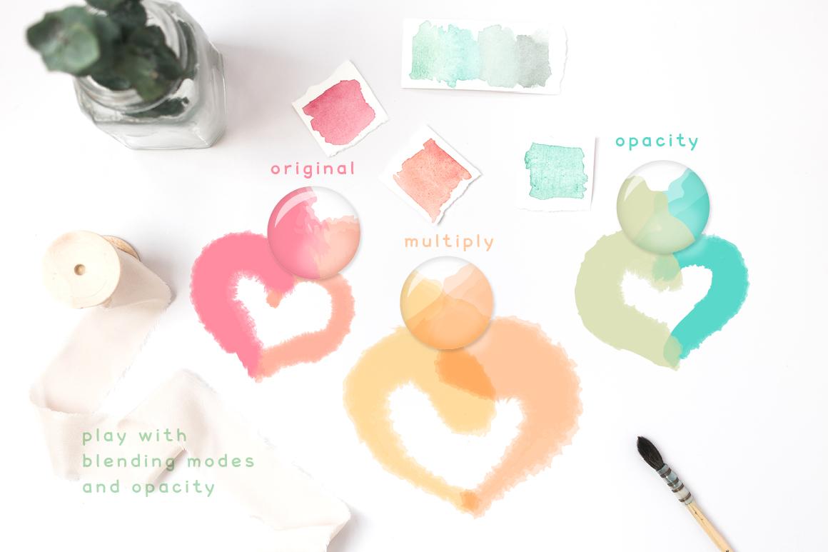 Fluffy Brushes for Illustrator example image 4