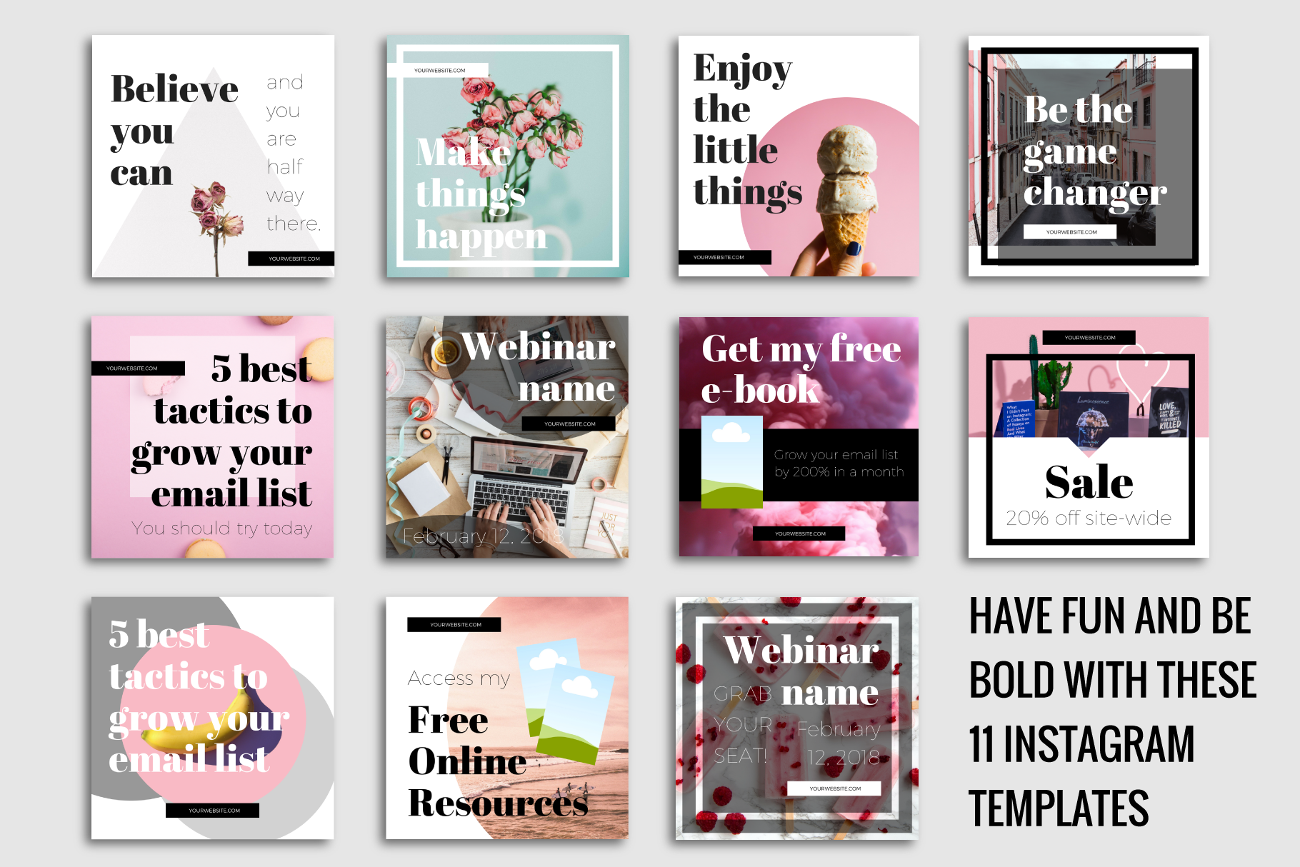 Instagram Templates Made In Canva example image 3