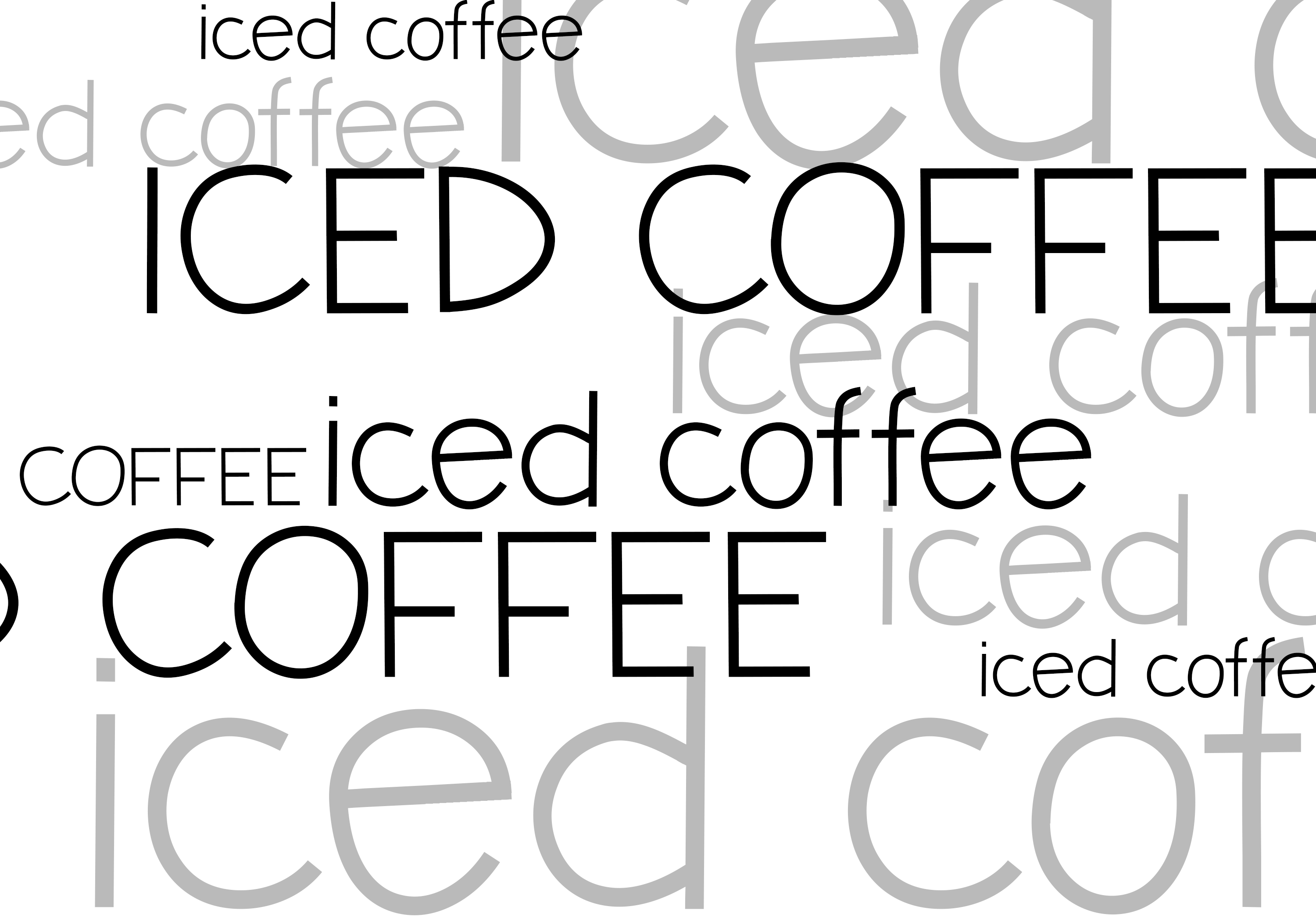 Iced Coffee - A Handwritten Font example image 6