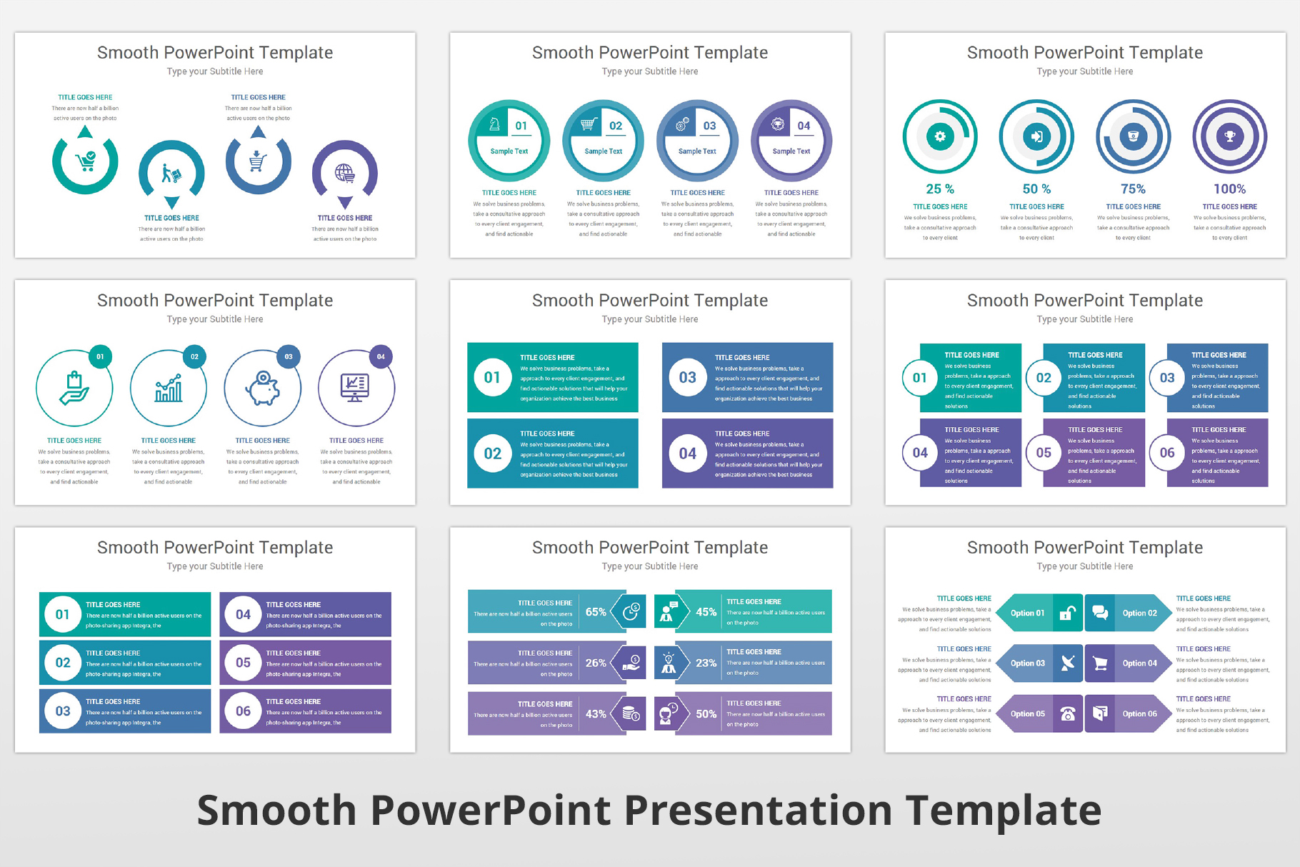 Smooth multipurpose PowerPoint Presentation Template example image 11