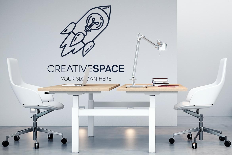 Creative Idea With Rocket Logo example image 4