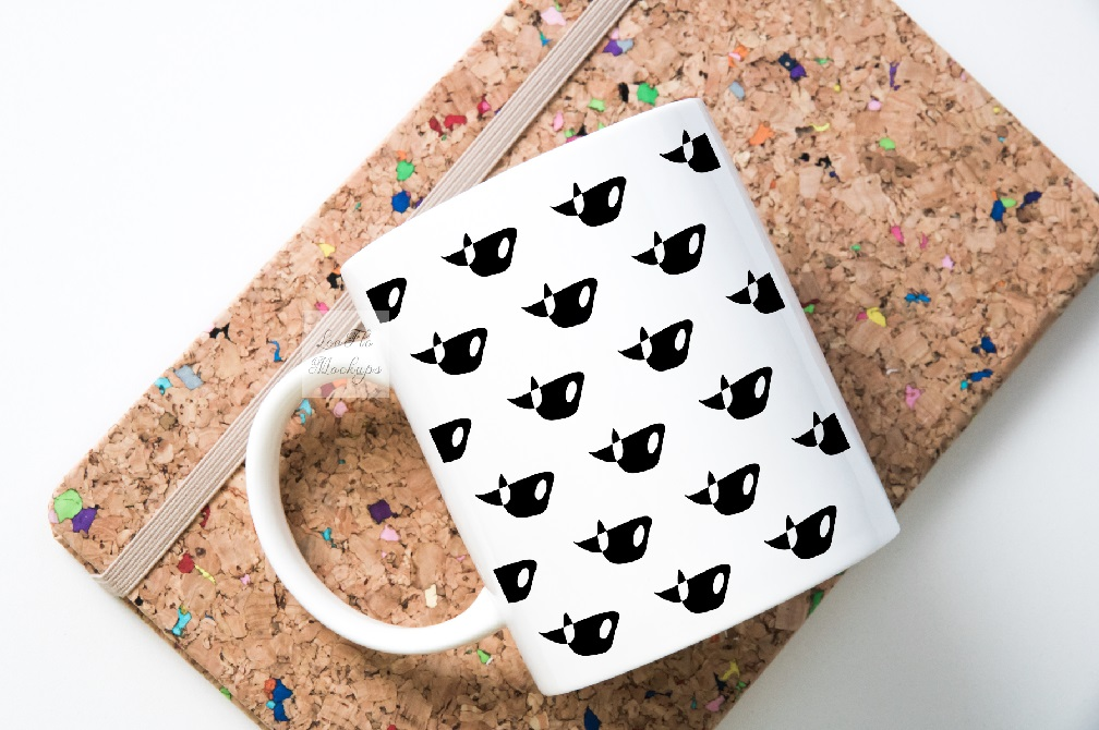 Mug mockup modern flatlay sublimation 11oz cup mock up example image 9