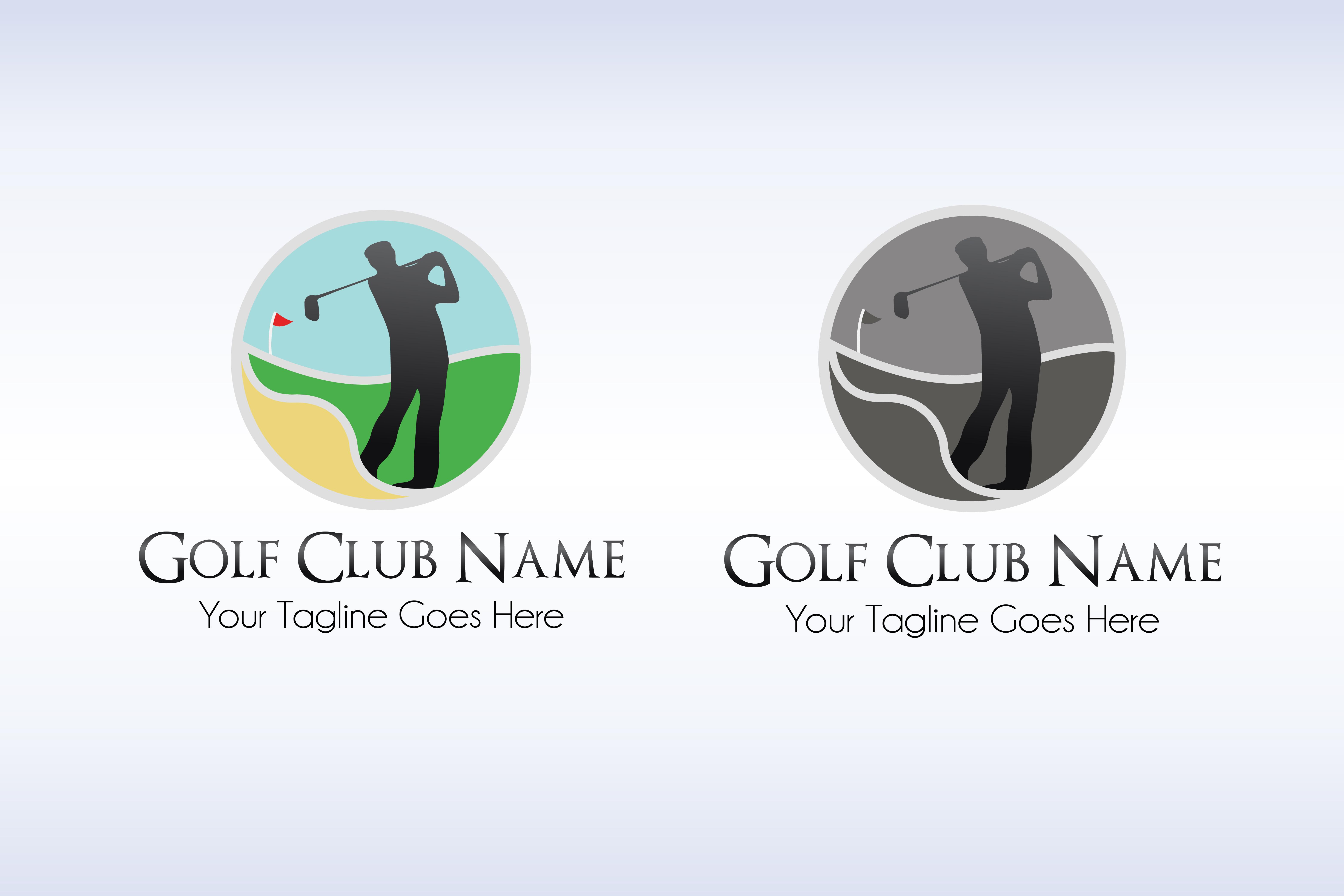 Golf Club Logo Template example image 4