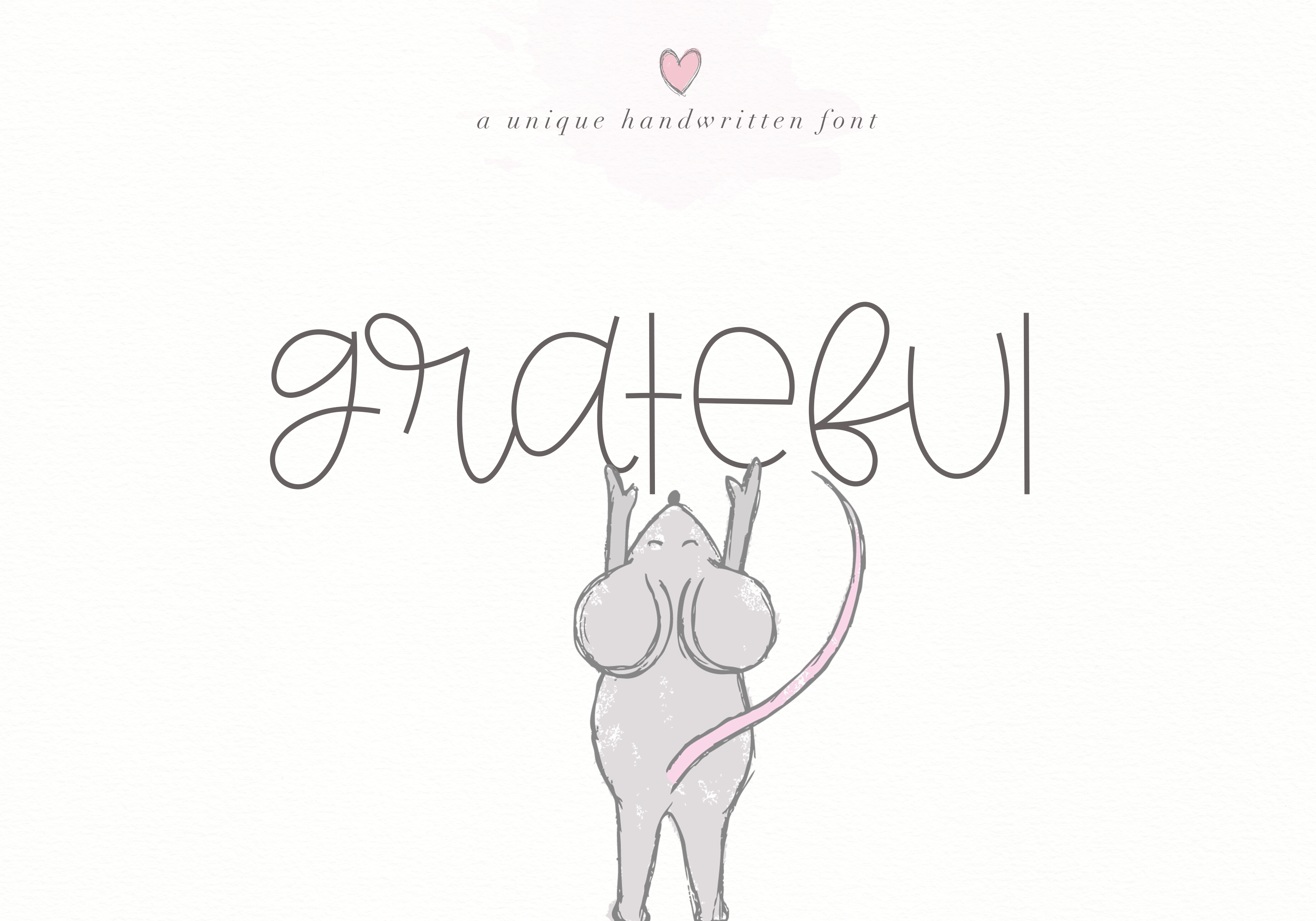 Grateful - Handwritten Font example image 1