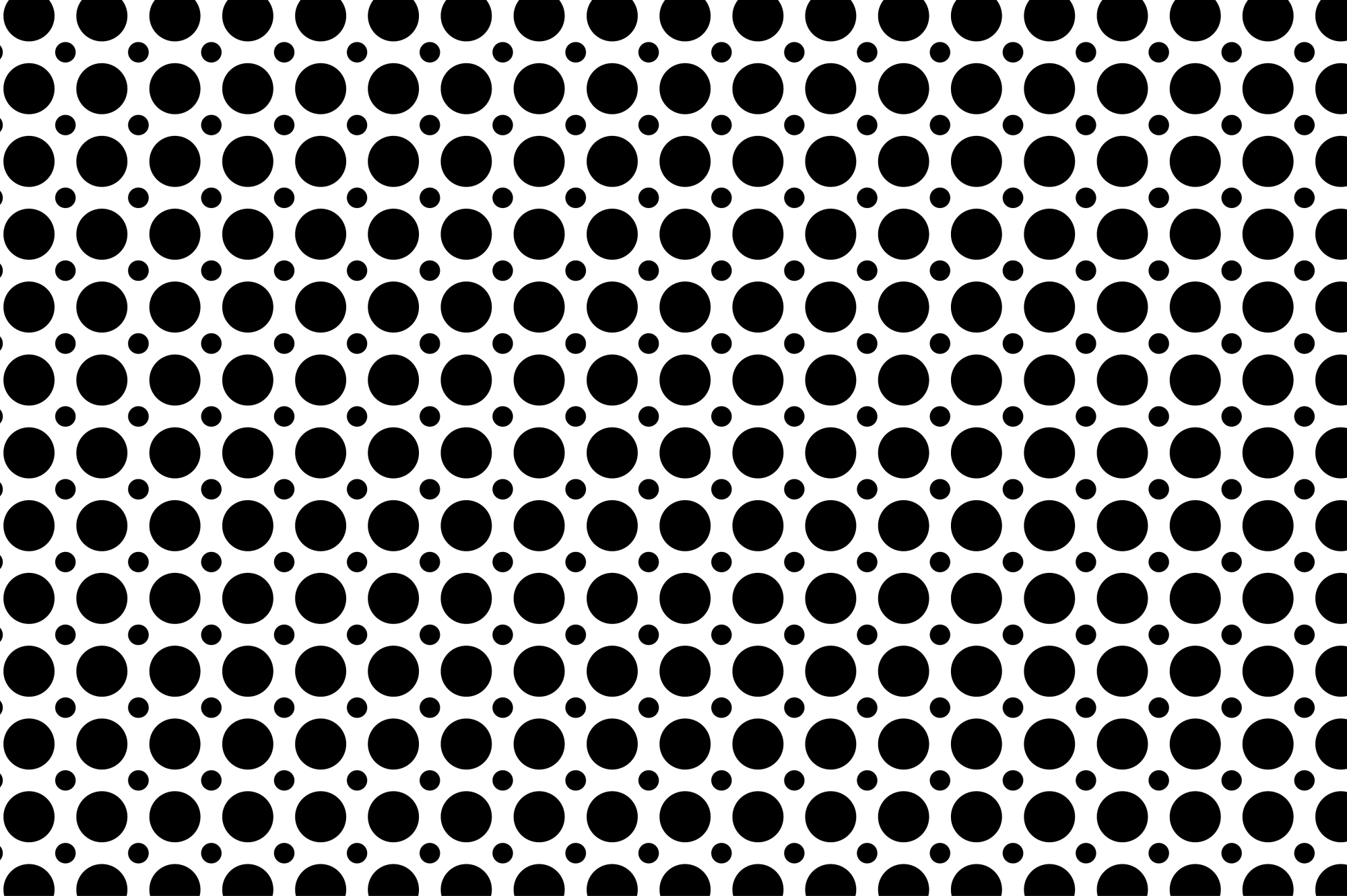 Set of dotted seamless patterns. example image 19