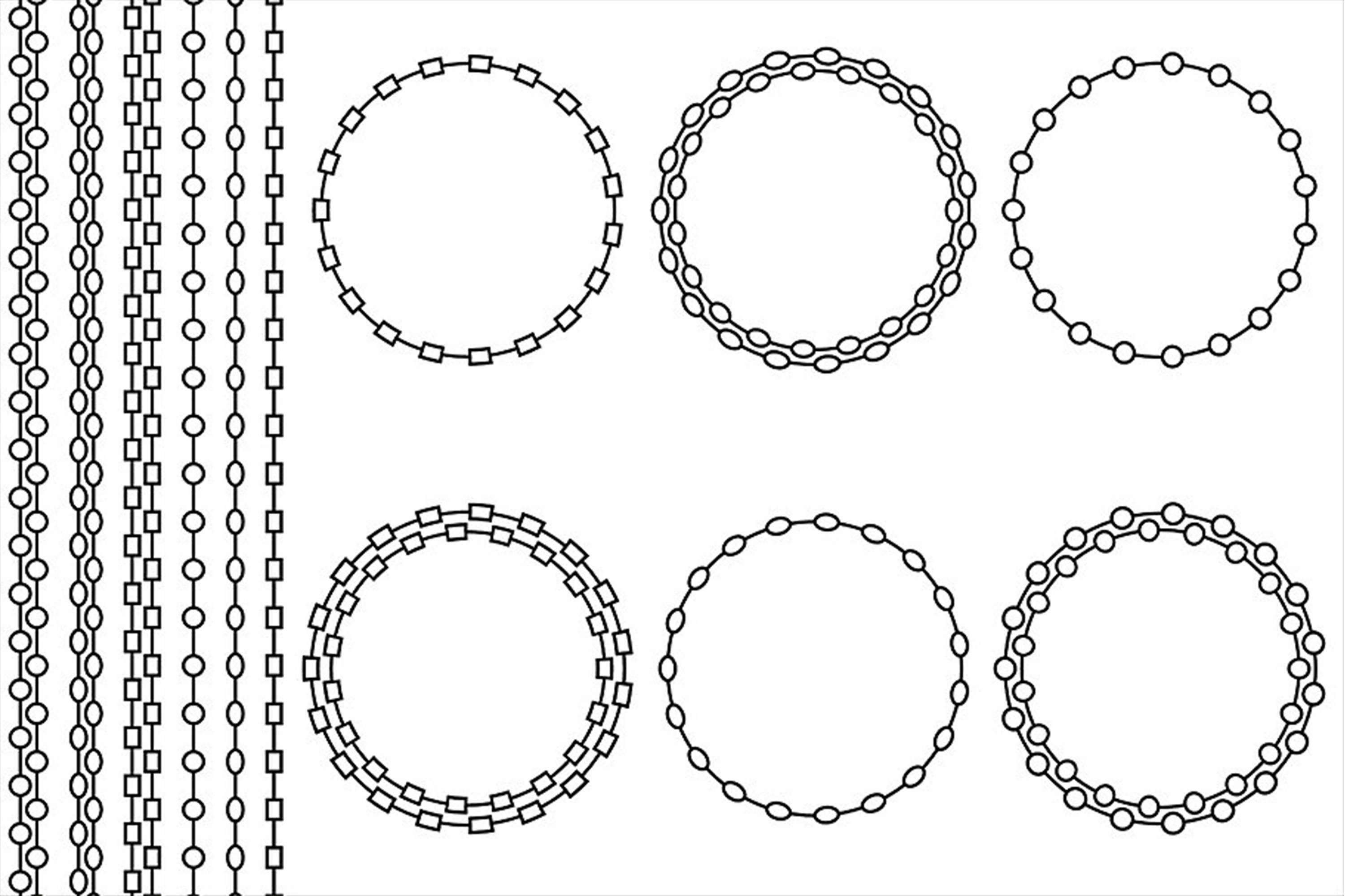 Chain Frames & Borders example image 4