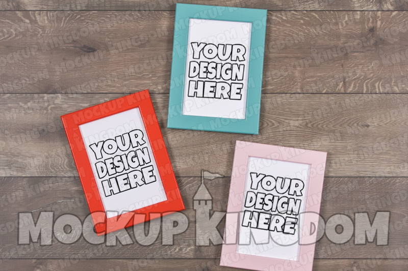 Picture Frame Mockup, Blank Frame Artwork, Canvas Mockup example image 1