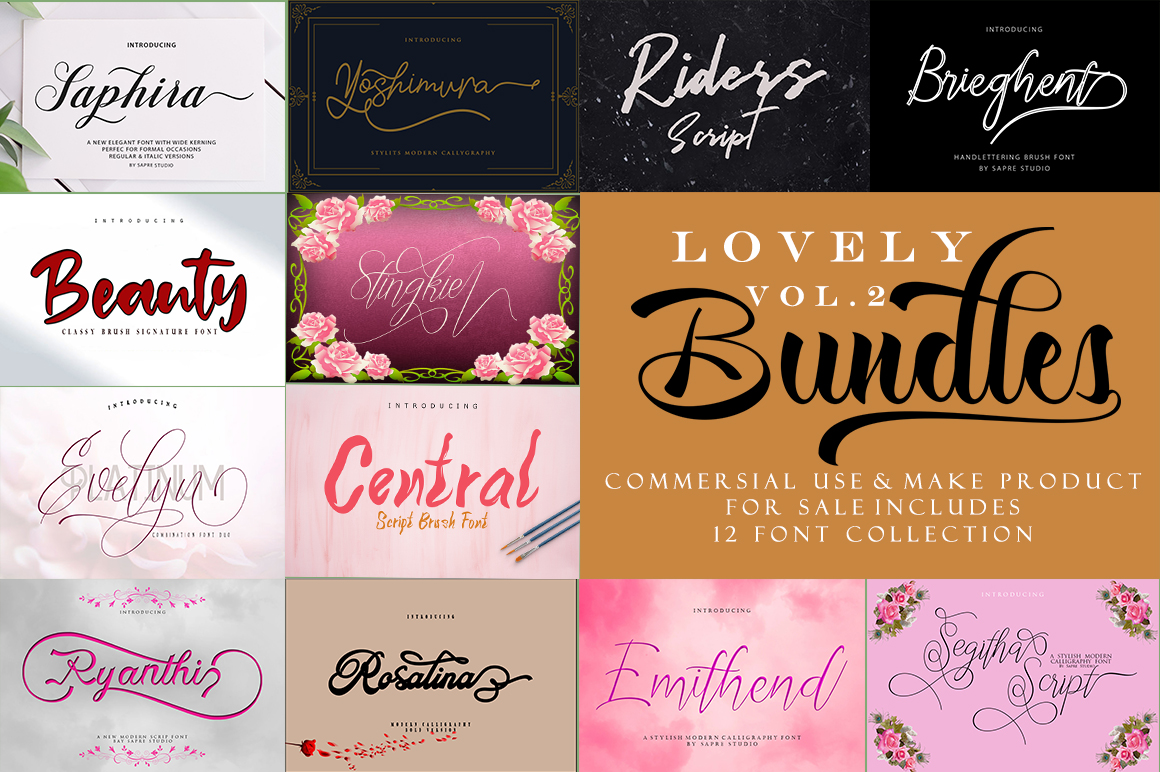 LOVELY Bundles VOL 2 example image 1
