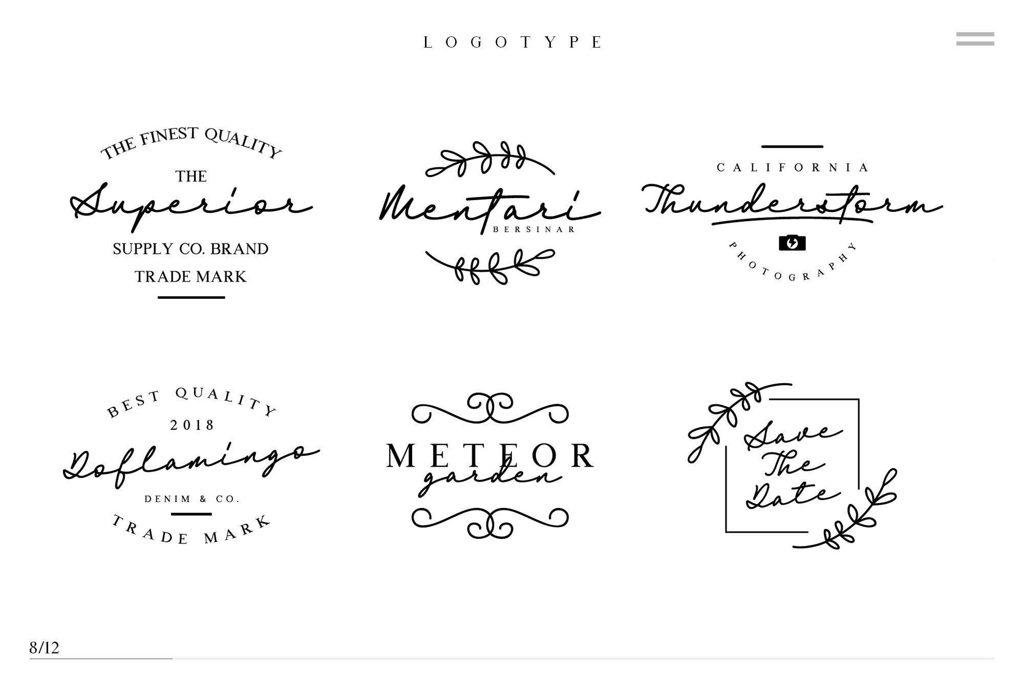 Britania Letter Signature Script example image 7