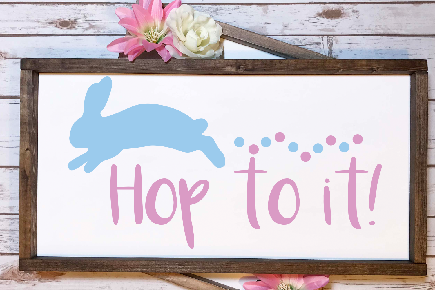 Hop to it svg, easter svg, bunny svg example image 4