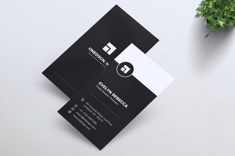 Minimalist Business Card Vol. 02 example image 4