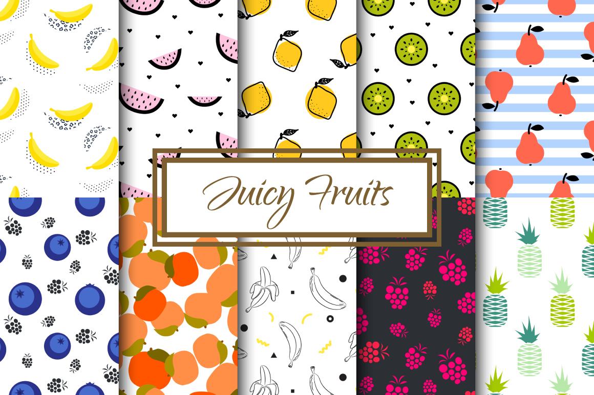 Juicy Pop Art Fruits example image 1