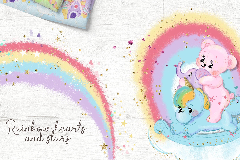 Bear and Unicorn Patterns example image 5