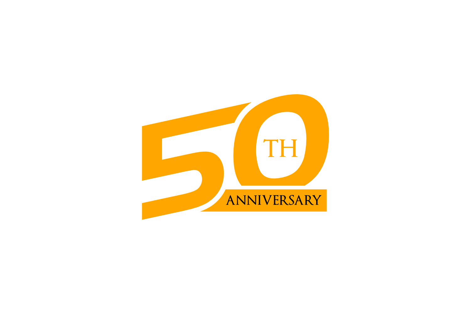 50th anniversary logo example image 1
