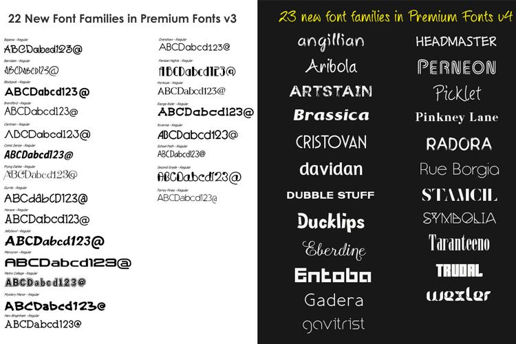 Premium Fonts example image 4