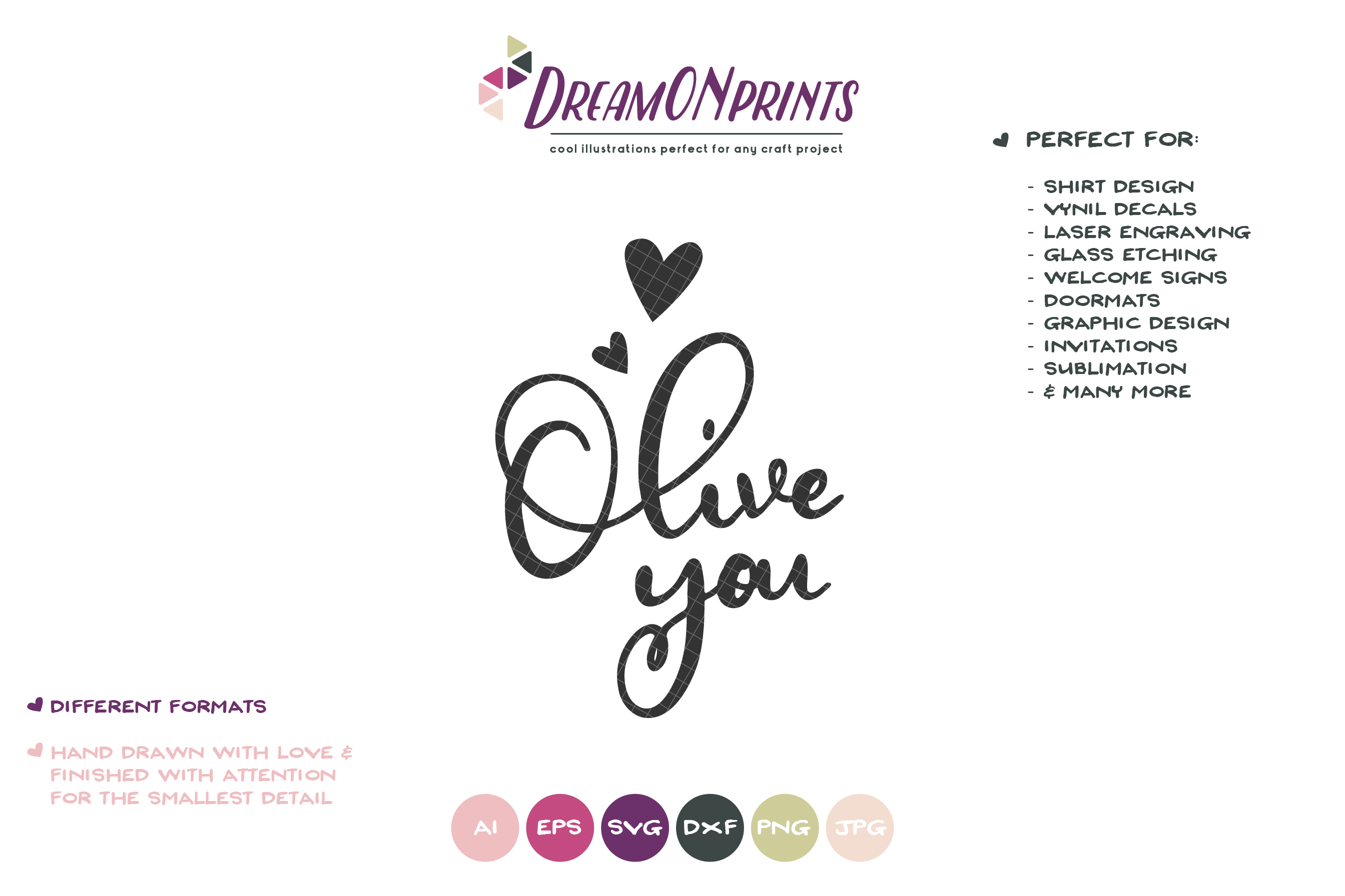 Olive You | Kitchen Sign SVG | I Love You example image 2