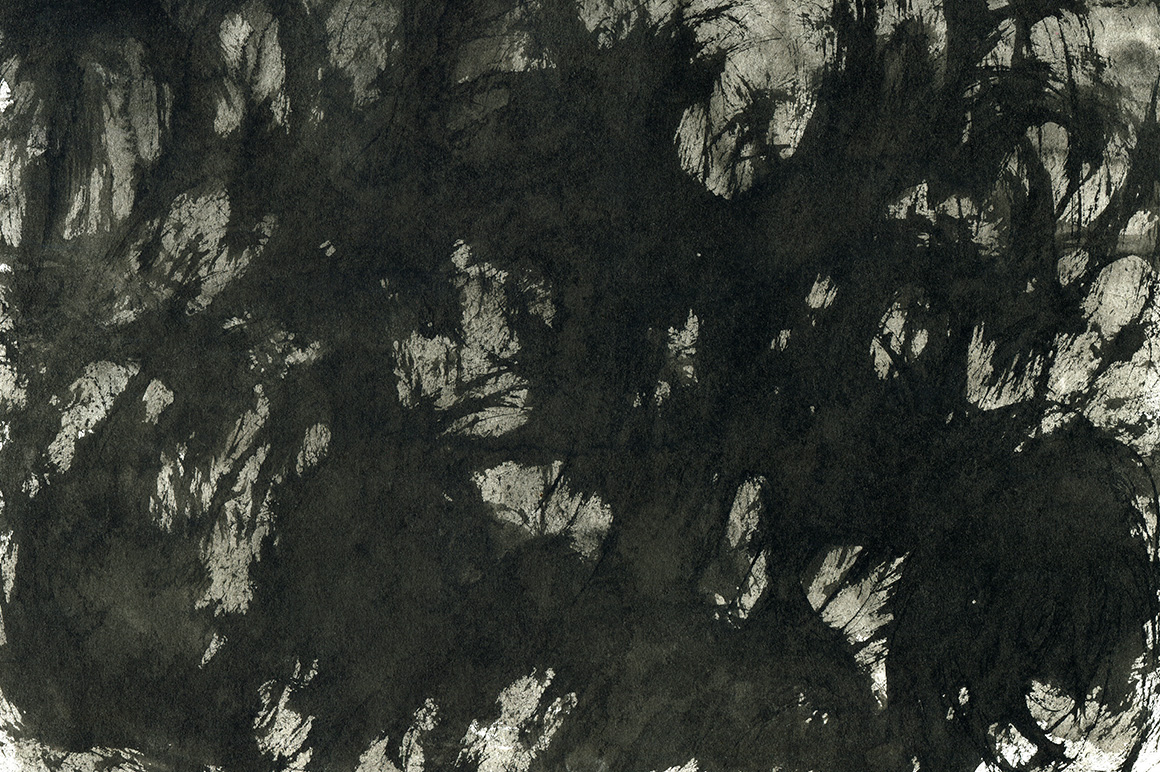 Black Ink Backgrounds Vol.2 example image 5