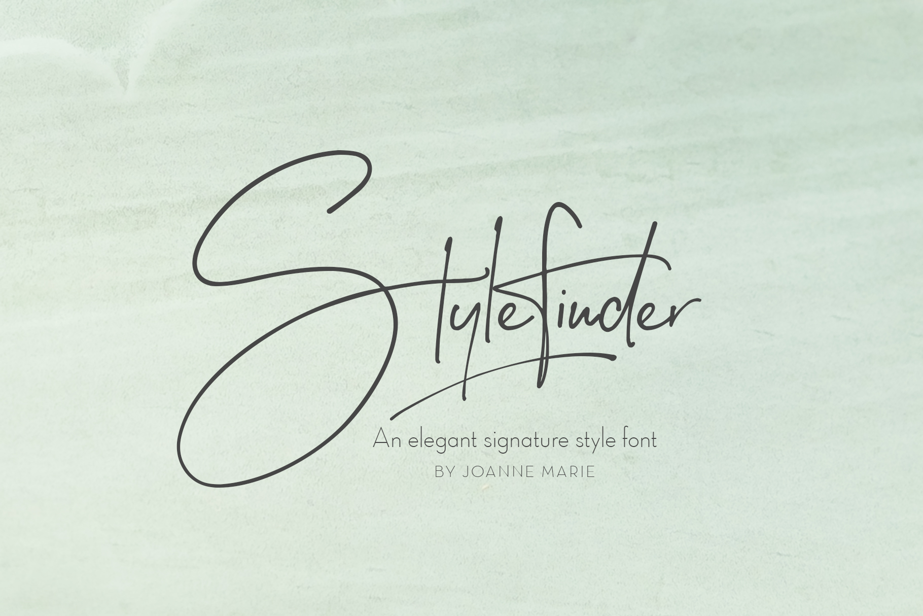 Stylefinder signature font example image 1