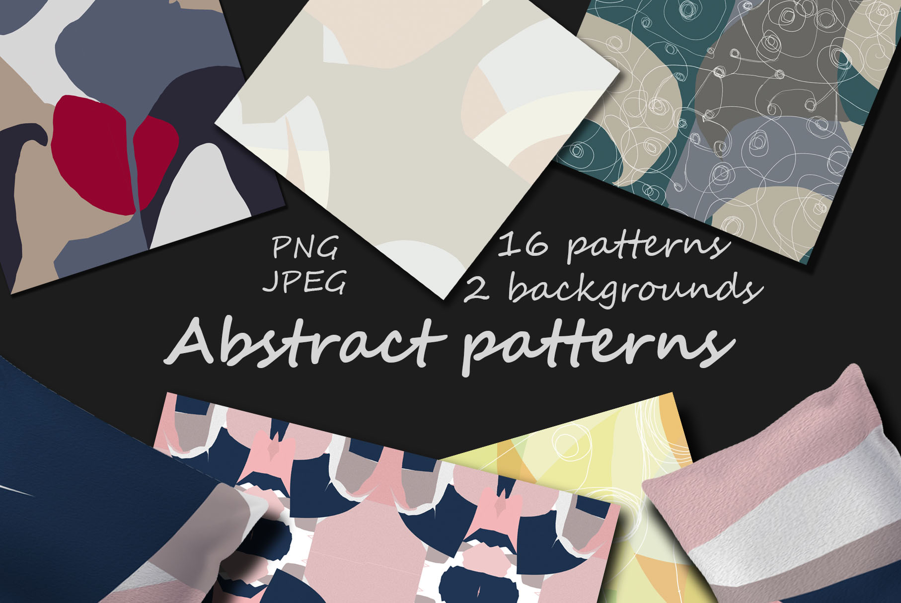 Colorful abstract patterns example image 1