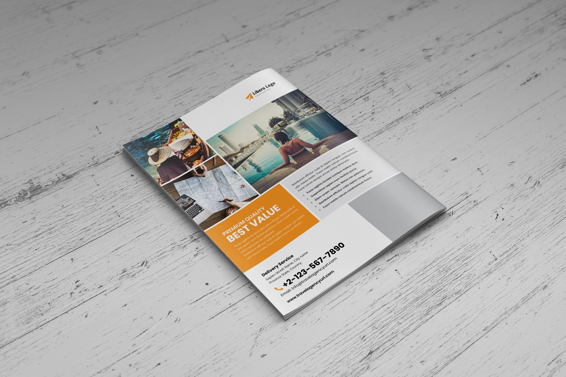 Holiday Travel Brochure Design v5 example image 6