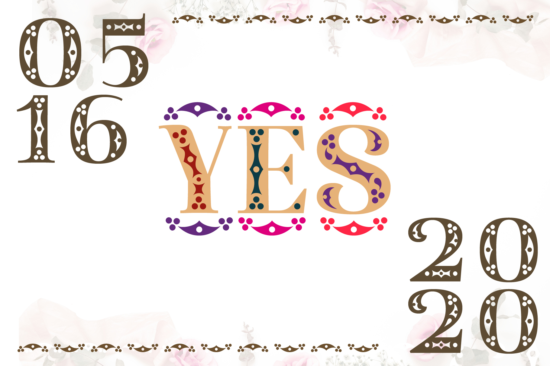 Diara Wedding Font example image 2