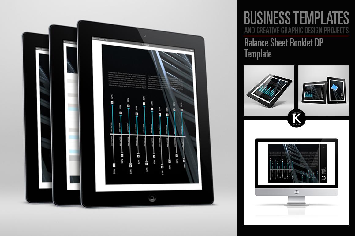 Balance Sheet Booklet DP Template example image 1