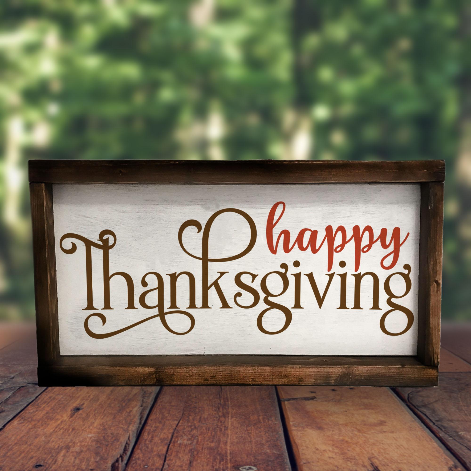 Thanksgiving SVG Bundle example image 2
