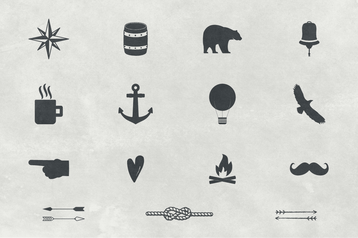 Vintage Nautical Logo Collection example image 4